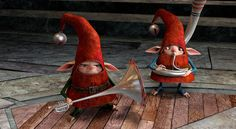 Angry elf from Rise Of The Guardians, just love this Elf