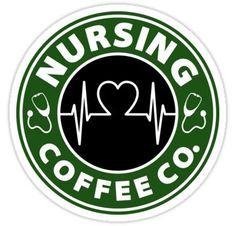 Nurses Week Quotes Discover Nursing Coffee Co. Sticker by AvioArts Nursing Coffee Co. Disney Starbucks, Starbucks Logo, Nurses Week Quotes, Nursing Quotes, Custom Starbucks Cup, Coffee Logo, Cricut Vinyl, Cricut Air, Cricut Craft