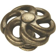 Hickory Hardware - Charleston Blacksmith in. Black Iron Finish Knob - Express your own personal style with this rustic metal design featuring rear-mount installation and added hardware. Cabinet And Drawer Knobs, Kitchen Cabinet Hardware, Kitchen Cabinets, Shaker Cabinets, Cabinet Handles, Dresser Drawers, Drawer Pulls, Dressers, Rustic Irons