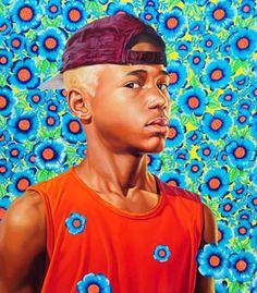 """Randerson Romualdo Cordeiro (The World Stage; Brazil)"" by Kehinde Wiley"