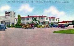 Tides Hotel, Redington Beach, on the Gulf of Mexico - Saint Petersburg, Florida