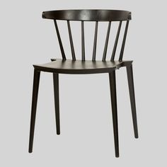 Celune Outdoor Cafe Chair - Black