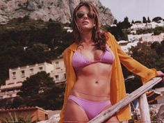 Elizabeth Hurley Bedazzled Bikini | Elizabeth Hurley_Click on the Image for Larger View