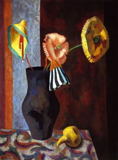 Roger Fry - Still Life with Omega Flowers