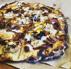 Fire Pizza, Wood Fired Pizza, Base Foods, Food Truck, Vegetable Pizza, Restaurant, Vegetables, Mobile Food Cart, Veggies