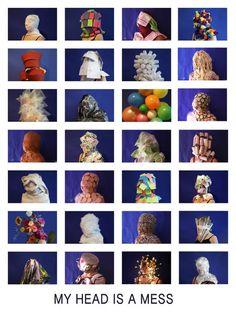 My head is a mess  by Pien Isfordink & Madelief van Ewijk