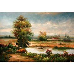 Real Handmade Landscape Oil painting Landscape Art, Oil Paintings, Handmade, Pintura, Hand Made, Oil On Canvas, Paisajes, Handarbeit, Art Oil