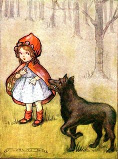 Flora White's Red riding Hood