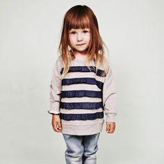 frill sweater #kids #minirodini
