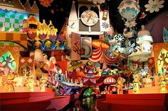 """""""Photomontage from the picutres I took on the """"It's a Small World"""" ride, Magic Kingdom, WDW, Orlando."""" Flickr: elunandy"""