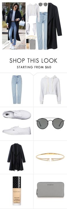 """""""Keep It Real : Kendal Jenner✨"""" by mehak11120 ❤ liked on Polyvore featuring Won Hundred, Monrow, Vans, Ray-Ban, Nadri, Gucci, Givenchy and jenners"""