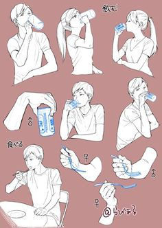 Drinking/Eating Positions
