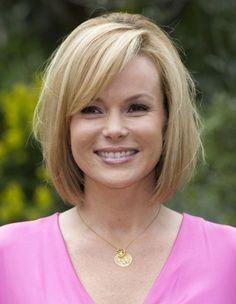 Short Hair Styles For Women Over 40 | Amanda Holden Short Hairstyles 2013 - Blonde Short Haircuts 2013