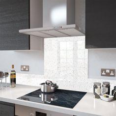 Deep Purple - Kitchen Glass Splashback - Wide x High - Premier Range