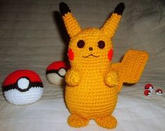 crochet pikachu pattern