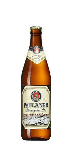 PAULANER Oktoberfest Bier.  The beer that taught me in the '80s how god-awful most American beers were before the craft beer explosion.