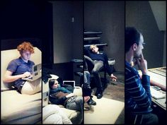 || Pausa ||   Shooting UNA recording @ Duna Studio