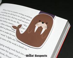 Walrus Magnetic Bookmark