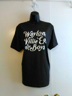 Waylon Willie & the Boys Soft Feel Tee by LondonLabelDesign