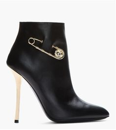 Versus Gold-Trimmed Army Boots ($625)