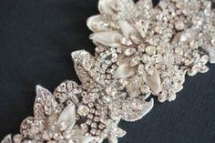 Bridal sash - Isla 20 inches