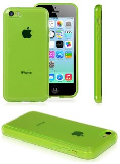 iPhone 5C Protective Transparent Solid TPU Green Case Cheap Price High Quality Colorful iPhone 5C Cases #iphone5C #apple #cases #cheap #price #high #quality #cellz.com $3.49