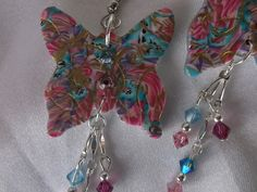 Jeweled butterflies by Lori Von der Puetten