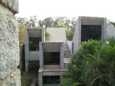 Indian Institute of Management, Bangalore. Designed by B.V. Doshi, completed 1983.