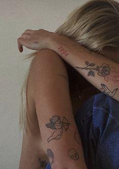 Dainty Tattoos, Pretty Tattoos, Mini Tattoos, Cute Tattoos, Body Art Tattoos, Small Tattoos, Sleeve Tattoos, Tatoos, Tattoo Skin