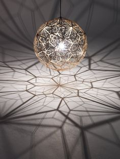 Contemporary Etch Web Lamp Interior lamp  Etch Web Lamp Design by Tom Dixon