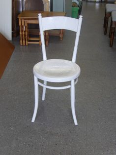 White Painted Chair In The RGF's Showroom £10 (PC841)