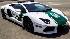 Where else but Dubai would you find a Lamborghini Aventador police car? A patrol car is great for high-speed pursuits but is it a wise car buy for the Dubai police Lamborghini Gallardo, Police Lamborghini, Ferrari Ff, Lamborghini Photos, Ferrari 2017, Dubai Cars, In Dubai, Aston Martin, Chevrolet Camaro Ss