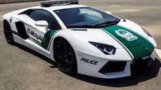This image released by the Dubai Police, shows a Lamborghini Aventador, in Dubai, United Arab Emirat... - Dubai Police/AP Photo
