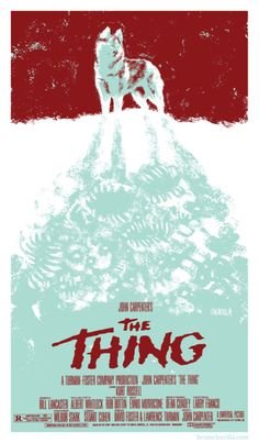 The Thing poster reimagined