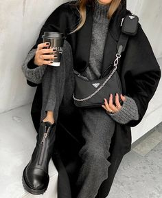 Cute Fall Outfits, Winter Fashion Outfits, Classy Outfits, Look Fashion, Autumn Fashion, Casual Outfits, Womens Fashion, Fashion Trends, Autumn Outfits