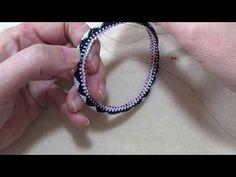 Video: Rolled Peyote Edging - #Seed #Bead #Tutorials