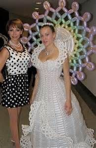 Balloon Wedding Dress - Bing Images