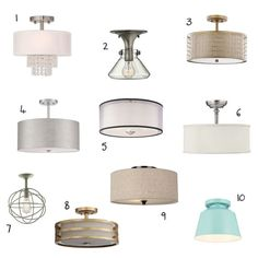 We worked with Just a Girl and Her Blog to update her kitchen lighting, and she built and amazing favorites list. Check out the great options for some affordable kitchen lighting that she chose!