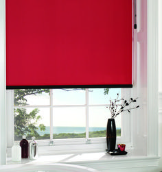 An explosion of vibrant red will give any room a pop art vibe while adding a touch of upscale elegance. This red blockout roller blind is more than just a pretty face – it blends beauty with full blockout functionality to enhance the privacy and insulation of any room.  #windowblinds #home #homeinspo #homedecor #homesweethome #interiorstyle #interiordesign #meblinds #rollerblind #blockoutblind #red #reddecor #redblind Red Blinds, Roller Blinds, Blinds For Windows, Curtains With Blinds, Blockout Blinds, Interior Styling, Interior Design, Red Interiors, Colour Board