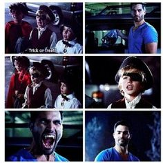 Derek Hale giving the children candy & then scaring him was perfect. Teen Wolf.