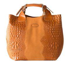 Deleite by Sharo Italian Handbag Tote Bag, Women's