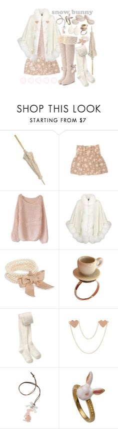 """""""snow bunnies"""" by raelenas ❤ liked on Polyvore featuring Harrods, J by Jasper Conran and Old Navy"""