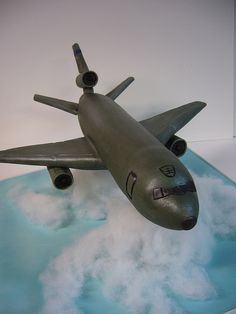 KC-10 Extender airplane cake | by amber.mckenney