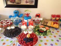 Fun Sesame Street party ideas.