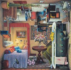插畫家 Jacek Yerka - 儘管充滿奇幻的想像,卻也十分寫實,充滿生活的痕跡與圍繞著一種家園的感受。