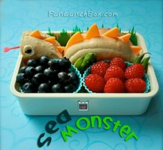 Sweet Sea Monster Bento - Foodista.com