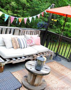 DIY Outdoor Deck