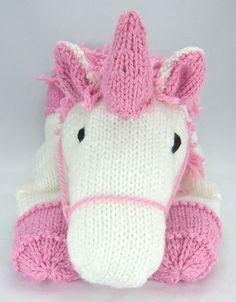 Suki+the+Unicorn+Pyjama+Case+Knitting+Pattern.+por+KnittingByPost,+£2.99
