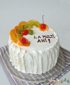 Tutti Frutti, Mini Cakes, Mousse, Food And Drink, Cooking, Birthday Cakes, Yummy Cakes, Sweets, Tropical