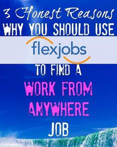 I used job board website FlexJobs to find my first work from anywhere job, and I think you should too. Check out the 3 honest reasons why you should use FlexJobs to find your next (or first) work from anywhere job.